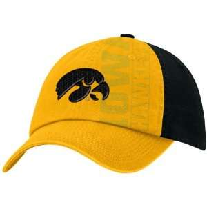 Nike Iowa Hawkeyes Black Alter Ego Campus Hat