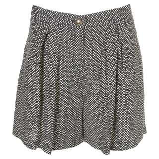 Polka Dot Shorts   Topshop