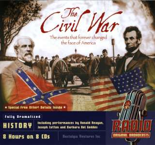 The Civil War   8 CD Set   #2039 9781934943151