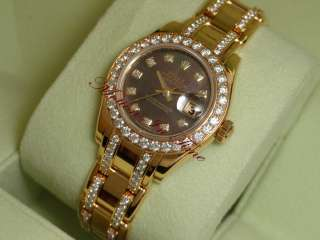 Ladies Yellow Gold Diamond Special Edition Masterpiece 80298