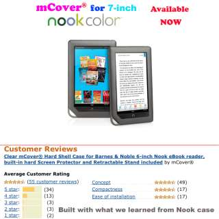 mCover® Hard Shell Case for Barnes&Noble 7 Nook Color