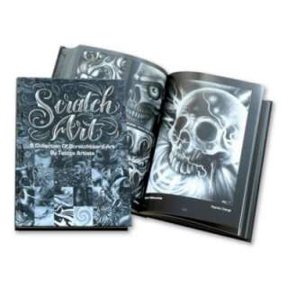 Scratch Art by Guy Aitchison Tattoo Flash Design Book