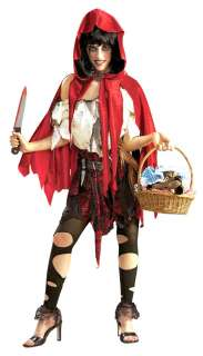 Womens Std. Adult Little Red Riding Hood Costume   Red