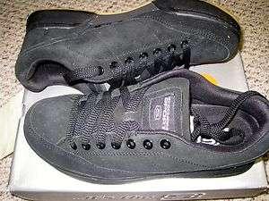 Skechers Klone Mens Skate Shoes Black Suede Cronies III |