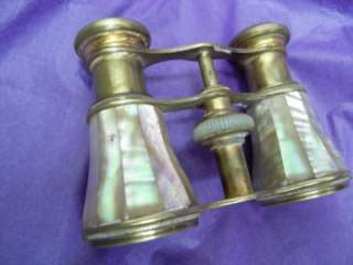 SOCLETE DOPTIQUE PARIS Opera Glasses Mother Of Pearl Binoculars