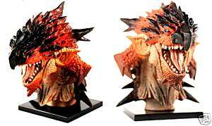 Monster Hunter 2G Special Head Bust Figure Dragon Riore |