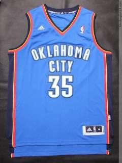Kevin Durant Oklahoma City Thunder #35 Jersey Blue Swingman