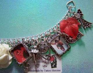 Michael Jackson Themed Charm Bracelet Handmade By Tattoo.Heroine