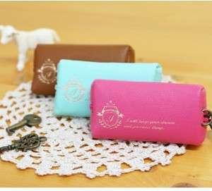 Korean Cute Key Bag Pocket Container Holder Pouch Key Chain 1pc