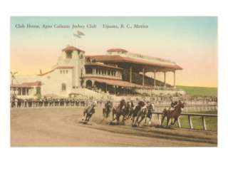 Caliente Racetrack, Tijuana, Mexico Prints at AllPosters