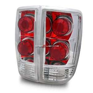 95 04 GMC Jimmy Tail Lights   Chrome Automotive