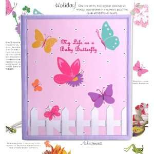 Dolce Mia Flowers and Butterflies Baby Memory Book Baby