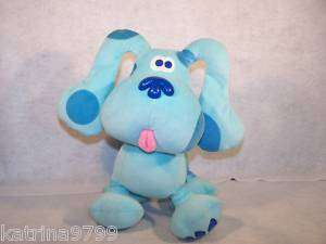 Nick Jr Blues Clues Dog Blue plush toy doll EDEN TOYS