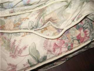 RALPH LAUREN Winter Garden Floral FULL/ QUEEN COMFORTER NEW *