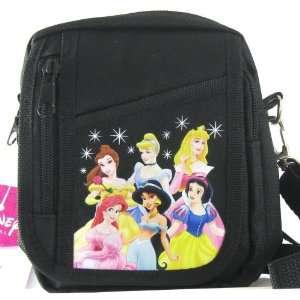 Princess Disney Princesses Black Camera Case Bag New