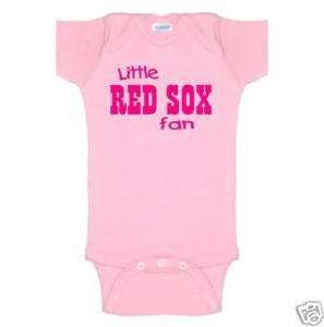 red sox girls pink baby onsie romper boston t shirt top