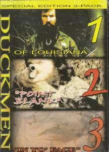 Duckmen Season 1, 2, 3 Trilogy ~ Duck Hunting DVD New