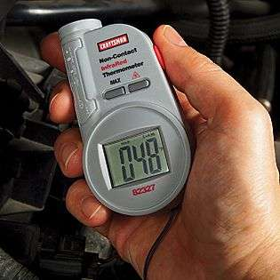 Infrared Thermometer with Laser Pointer  Craftsman Tools Electricians