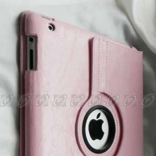 Rotating Magnetic PU Leather Case Smart Cover With Swivel Stand