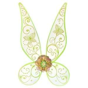 Tinkerbell Glow n the Dark Fairy Wings Light Up Costume
