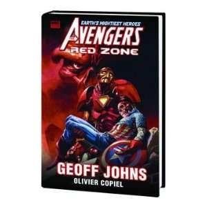 Avengers Premiere HC Red Zone Written by GEOFF JOHNS