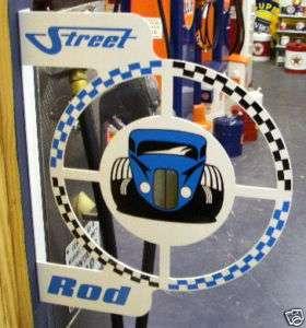 STREET ROD HOT NEW STEEL FLANGE SIGN   *