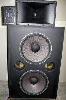 Speaker Cabinet JBL 2445H HF Driver JBL 2308A Horn JBL 3160 Crossover