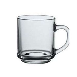 10 Oz. Coffee Mug In Tempered Glass:  Kitchen & Dining