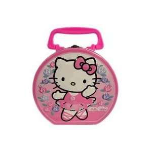 Hello Kitty Tin Box Lunch Box Ballerina Toys & Games