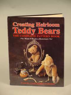 Teddy Bears, The Complete Pattern Book by Linda Mullins