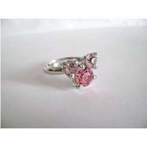 Kingdom Hearts Pink Crystal Ring