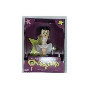 Betty Boop Mini Collectible PVC Figure in White Dress  Toys & Games