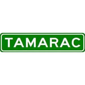 TAMARAC City Limit Sign   High Quality Aluminum  Sports