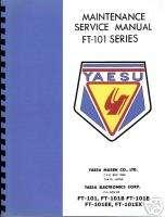 YAESU FT  101 /B/E/EE/EX Transceiver service manual