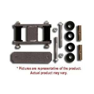 Shackle Lift Kit, Front 0 Greaseable Warrior 1987 1996 Jeep Wrangler