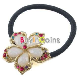 Cute Crystal Style Flower Wedding Hair Pin Hairband Hair Hoop