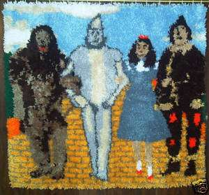 The Wizard of Oz 40X37 Latch Hook Kit