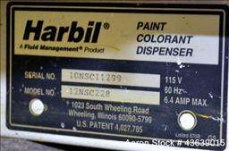Used  Harbil Manual Paint Colorant Dispenser, Model 12N |