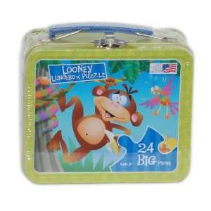 Great American Looney Lunch Box Monkey Jigsaw Puzzle Toys & Games