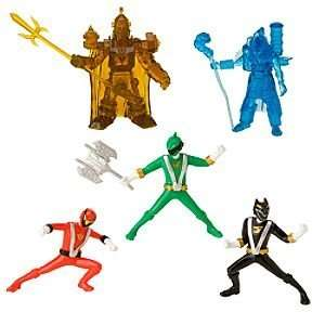 Disney Power Rangers RPM Figurine Play Set    5 Pc. Toys