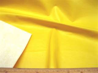 Vinyl Pleather Faux Leather Smile face Yellow L100