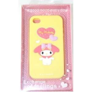 Hello Kitty Silicon Case Cover for Apple Iphone 4 4gs Yellow My Melody