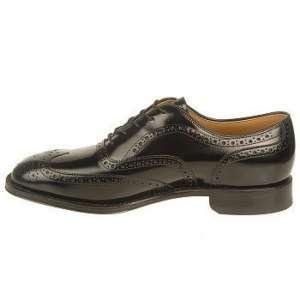 Johnston & Murphy Mens Greenwich Black Shoe 24 8555