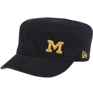 New Era Michigan Wolverines Ladies Navy Blue Flora