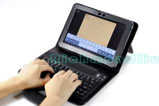 Bluetooth Keyboard Leather Case for Samsung Galaxy Tab P7300 8.9 New