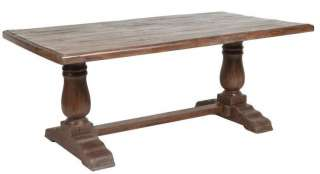 Solid reclaimed wood dining table WAREHOUSE SPECIAL spectacular tables
