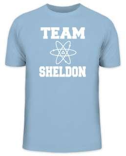Kult T Shirt TEAM SHELDON Big Bang Theory Funshirt Funshirts