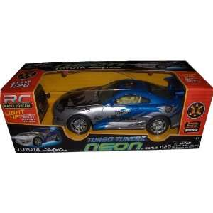 RC Turbo Tunerz Neon Toyota Supra 120 Radio Control Car