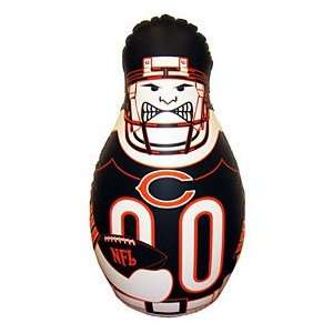 Chicago Bears Tackle Buddy Durable Vinyl And Sand Weighted