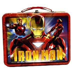 Iron Man 2 Movie Film Red Tin Tote Lunchbox Lunch Box